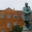 Stock Photo: Statue of Hans ChristiAndersen in Odense