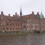 Egeskov Slot in Denmark — Stock Photo