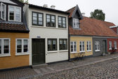 Houses in the old town of Odense — Fotografia Stock