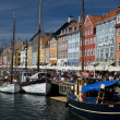 The Colorful Buildings of Nyhavn in Copenhagen — Stock Photo