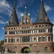 Holstentor in Lubeck — Stock Photo #32717835