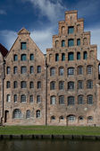 Salt Warehouse in Lubeck — Stock Photo