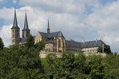 Michaelsberg Abbey in Bamberg — Stock Photo