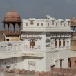 Junagarh Fort in Bikaner — Stock Photo