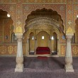 Stock Photo: Inside Junagarh Fort in Bikaner