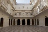 Courtyard in Junagarh Fort in Bikaner — Stockfoto