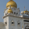 Gurdwara Bangla Sahib, Sikh Temple in Delhi — Stockfoto