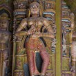 Statue in Bhandasar Jain Temple in Bikaner — Stock Photo