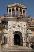 Hawa Mahal Gate (Palace of Winds) in Jaipur — Stock Photo