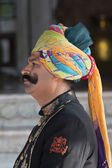 Hotel Guard in Bikaner — Stock Photo