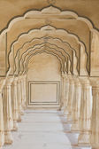 Arches at Amber Fort near Jaipur — Stockfoto
