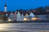 Panorama of Landsberg am Lech — Stock Photo