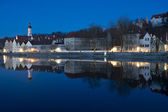 Panorama of Landsberg am Lech — Stock Photo