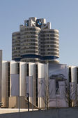 Bmw Building in Munich — Fotografia Stock