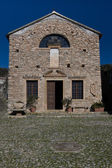 Kerk in borgio verezzi — Stockfoto