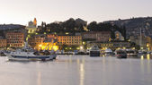 The harbour of Santa Margherita — Stock Photo