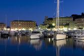 The harbour of Santa Margherita — Stock Photo