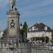 BavariLion at entrance of Port of Lindau — Stock Photo #40300075