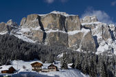 Chalet in Val di Fassa — Stock Photo