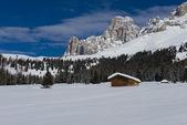 Chalet in the Dolomiti — Stock Photo