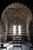 Inside of the Church of San Pietro in Portovenere — Stock Photo