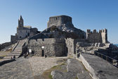 Church of San Pietro in Portovenere — Stockfoto