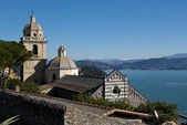 Church of San Lorenzo in Portovenere — Stock Photo