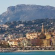 Stock Photo: Townscape of Menton.