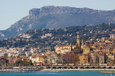 The townscape of Menton. — Stock Photo