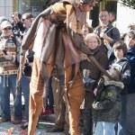 Masker in the Lemon Festival Parade — Stock Photo #42140861