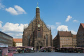 Church of Our Lady in Nuremberg — Stock Photo
