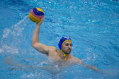 Water polo match Pro Recco - Barceloneta — Stock Photo