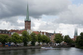 Townscape of Lubeck — Stock Photo