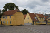 Houses in Roskilde — Stock Photo
