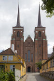 The Towers of the Cathedral of Roskilde — Foto de Stock