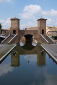 Trepponti in Comacchio — Stock Photo