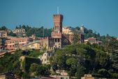 D'Albertis Castle on the hills of Genoa — Stock Photo