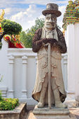 Chinese Giant Statue at Wat Pho — Stock Photo