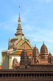 Un modelo de angkor wat en el gran palacio de bangkok, tailandia — Foto de Stock