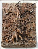 Decorative element in the Grand Palace, Bangkok, Thailand — Stock Photo