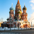 Stock Photo: St Basils Cathedral in Red Square, Moscow