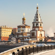 Stock Photo: Orthodox churches. Russia, Siberia, Irkutsk.