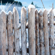 Fence Post Broken Wood Planks — Stock Photo #38797297