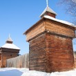 "Old fort in Irkutsk museum ""Taltsy"" — Stock Photo #51095977"