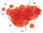 Bloody watercolor spots — Stock Vector
