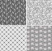 Net lace set — Stock Vector