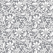 White seamless lace — Vector de stock