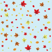 Autumn leaves — Vetorial Stock