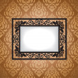 Antique frame — Stock Vector