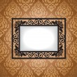 Stock Vector: Antique frame